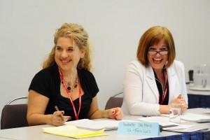 Les membres du comité du congrès s'impliquent généreusement pour la réussite des ateliers