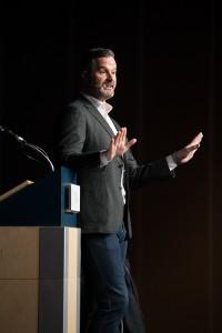 Martin Latulipe pour la grande conférence d'ouverture
